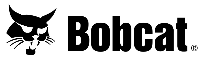 illustration of a hissing bobcat next to the word bobcat in black text