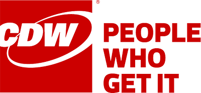 red cdw logo
