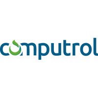 computrol in blue text, the first o is a green waterdrop