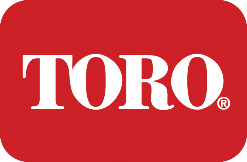 rounded red rectangle with the word toro in white text in the center