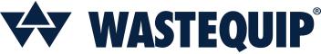 wastequip in navy text